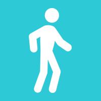2.85mi. walk in 59:00